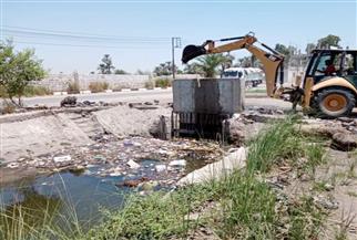 الزراعة: رفع  673 ألف طن مخلفات من الترع في 16 محافظة   فيديو