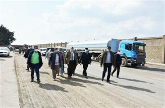 """محافظ الشرقية يتفقد أعمال التوسعة الجارية بطريق """"الزقازيق منيا القمح""""   صور"""