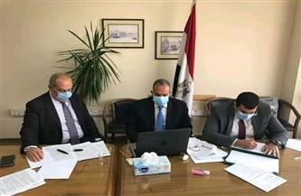 السفير بدر عبدالعاطى يعقد جلسة مشاورات سياسية مع نائب وزير الخارجية الجورجي | صور