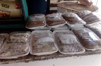 ضبط 190 طبق كبدة ودجاج و70 كجم لحم مفروم بدون تاريخ صلاحية في بورسعيد | صور