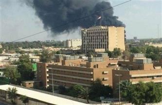 3 صواريخ على الأقل استهدفت السفارة الأمريكية في بغداد
