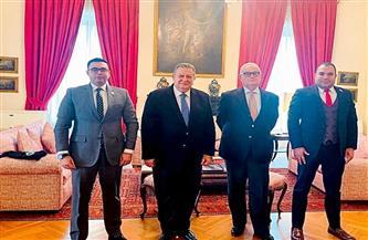 السفير الإيطالي بالقاهرة: نتطلع لمزيد من التعاون الاقتصادي والسياحي مع مصر