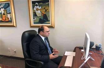 سفير مصر في كندا يشارك في مراسم افتتاح فرع جامعة رايرسون الكندية بالعاصمة الإدارية الجديدة  صور