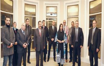 رئيسة الاتحاد الدولى للناشرين لـ«الأهرام»: مصر تقود التطور الثقافى بالعالم العربى