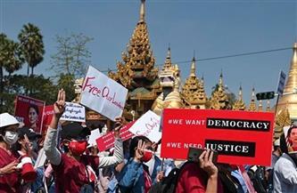 تجدد التظاهرات في ميانمار بعد يوم من الإضراب العام