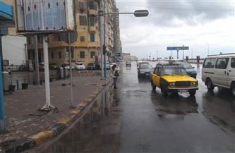 أمطار رعدية غزيرة تضرب الإسكندرية.. والمحافظة ترفع درجة الاستعداد| صور