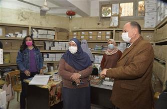 محافظ أسيوط يتفقد مخزن الأدوية الرئيسي.. ويوجه بمنظومة إلكترونية لمتابعة الأرصدة| صور