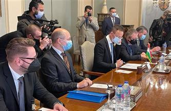 وزير خارجية المجر: تعاون تكنولوجي مع مصر في مجال التعاون النووي السلمي صور