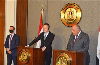 شكرى: الرئيس السيسي بحث وقادة أوروبا تنمية العلاقات في كافة المجالات