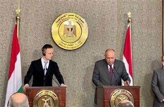 وزير خارجية المجر: مصر تتسلم 1300 عربة قطار.. وأعظم مشروعاتنا في مجال السكك الحديدية