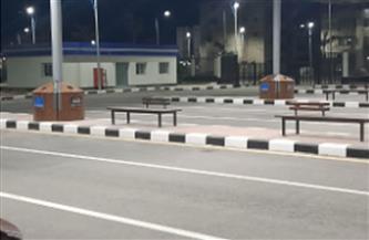 استعدادا لبدء التشغيل.. استكمال التشطيبات النهائية للميناء البرى الجديد ببورسعيد| صور
