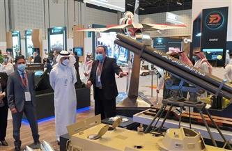 جناح العربية للتصنيع في إيدكس يستقبل محافظ الهيئة العامة للصناعات العسكرية السعودي| صور
