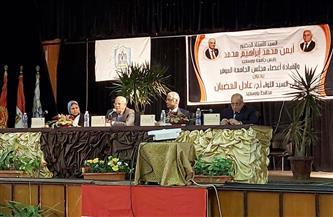 محافظ بورسعيد يبحث مع مجلس الجامعة الاستعدادات للامتحانات | صور