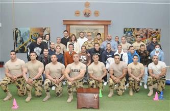 بيج رامي: المصري قادر على صنع المعجزات.. وقواتنا المسلحة يُضرب بها المثل في الشجاعة | صور