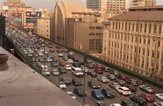 كثافات مرورية بطرق ومحاور القاهرة الرئيسية | صور