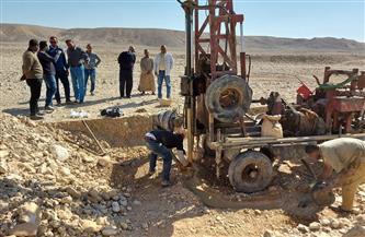 بدء إنشاء محطة لمعالجة الصرف الصحي في قرية الدير بالأقصر على مساحة 1170 فدانا  صور