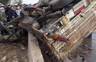 إصابة 19 عاملاً في حادث سيارة بالبحيرة