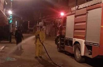 جهود للسيطرة على حريق بخط غاز في أكتوبر
