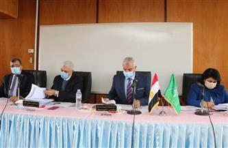 مجلس جامعة المنوفية يبحث إجراءات إنشاء الجامعة الأهلية في طوخ طنبشا وأداء الامتحانات وعودة الدراسة