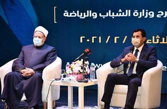 المفتي: مصر لن تسقط بحال من الأحوال للعديد من المقومات التي تكتنفها العناية الإلهية  صور