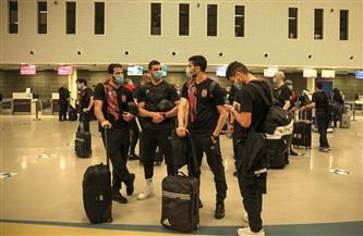 بعثة الأهلي تغادر مطار دار السلام في طريق عودتها إلى القاهرة