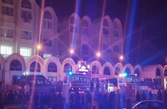 """مصرع وإصابة 13 شخصا في انقلاب ميكروباص على طريق """"المراقي"""""""