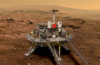 المسبار الصيني يبعث أولى صوره بعد هبوطه على المريخ