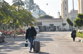 مدن جامعة القاهرة تستقبل طلابها المغتربين والوافدين |صور
