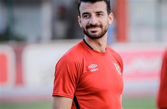 محمود متولى يبدأ الجرى حول الملعب ويعود لتدريبات الأهلي خلال 3 شهور