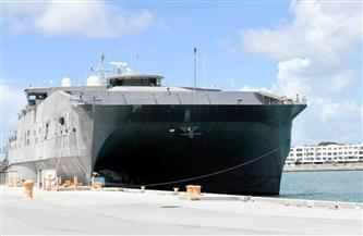 أول سفينة بحرية أمريكية تصل السودان منذ عقود