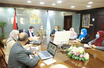 محافظ كفر الشيخ يبحث آلية إنشاء وحدة المرصد الحضري | صور
