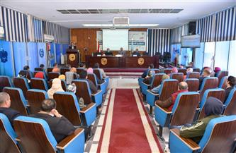 جامعة سوهاج تناقش «تكنولوجيا الاستشعار من البعد ودورها في التنمية المستدامة» | صور
