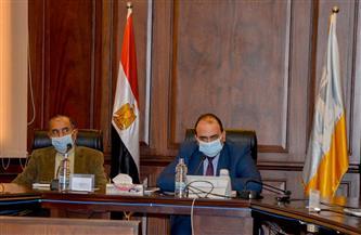 نائب محافظ الإسكندرية يبحث تنفيذ مبادرة وزارة المالية بحي منتزه أول | صور