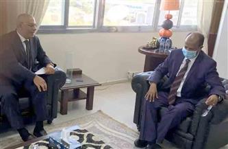 سفير مصر في جيبوتي يناقش آفاق التعاون مع وزير الخارجية