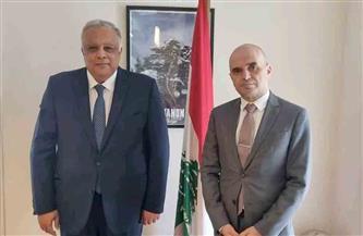 مبعوثا مصر ولبنان بالأمم المتحدة يؤكدان على استمرار التنسيق والتعاون بين البعثتين