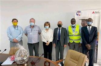 سفيرة مصر فى بنين تبحث الفرص الاستثمارية لإسهام الشركات المصرية بأعمال تطوير ميناء أنتويرب