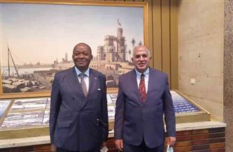 وزير الري يناقش مسئولا كونغوليا في تطورات مفاوضات السد الإثيوبي وتكوين رباعية دولية للتوسط في التفاوض | صور