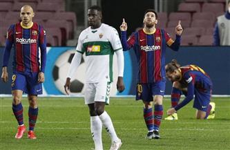 برشلونة يضاعف تقدمه أمام إلتشي بثلاثية نظيفة