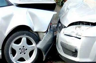 إصابة 3 مواطنين في تصادم سيارتين بالطريق الزراعي في الغربية