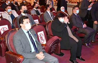 وزيرا الشباب والثقافة يشهدان حفل تكريم فرق المواجهة والتجوال بالمسرح القومي