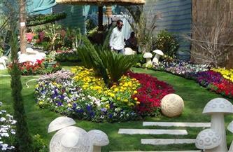 الزراعة: معرض زهور الربيع الـ 88 أول مارس بحديقة الأورمان