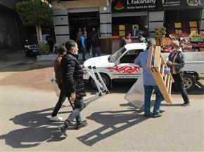إزالة ١٦٠ حالة إشغال وتحرير ١٥ محضرا خلال حملة بالباجور بالمنوفية| صور