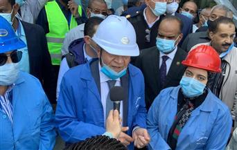 وزير التموين يستهل زيارته لأسوان بتفقد مصنع سكر إدفو