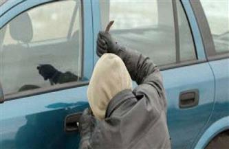 التحقيق في قيام لص بسرقة سيارة بداخلها طفلتان