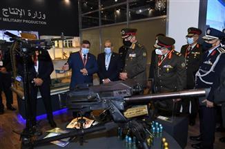 """وزير الدفاع يعود إلى أرض الوطن بعد مشاركته في معرض """"إيديكس"""" بدولة الإمارات العربية المتحدة"""