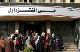 لجنة لحصر المنازل الآيلة للسقوط بالظهير الريفي في حي المنتزه بالإسكندرية