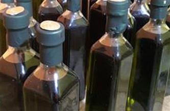 ضبط كميات كبيرة من زيت الزيتون مجهول المصدر