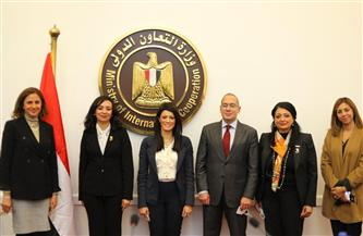 التعاون الدولي والمجلس القومي للمرأة يدشنان الخطة التنفيذية لمحفز سد الفجوة بين الجنسين| صور