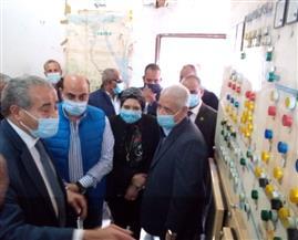 وزير التموين ومحافظ أسوان يتفقدان مشروعات تطوير مصنع سكر ومطحن إدفو | صور