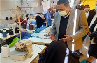 محافظ مطروح يتفقد مشروع مبادرة رئيس الجمهورية «مهنتك مستقبلك» بسيوة | صور